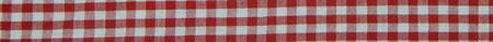 tight red gingham