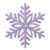 single-snowflake purple